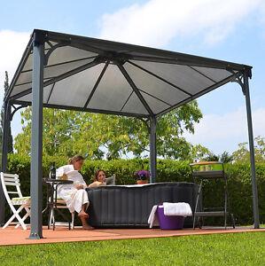 Hot Tub Gazebo Spa Awning Garden Canopy Outdoor Sun Shade Shelter