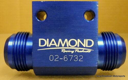 "1//2/""NPT Female, Diamond Racing 02-6732 Dry Sump Manifold Fitting 1 -16AN Male,"
