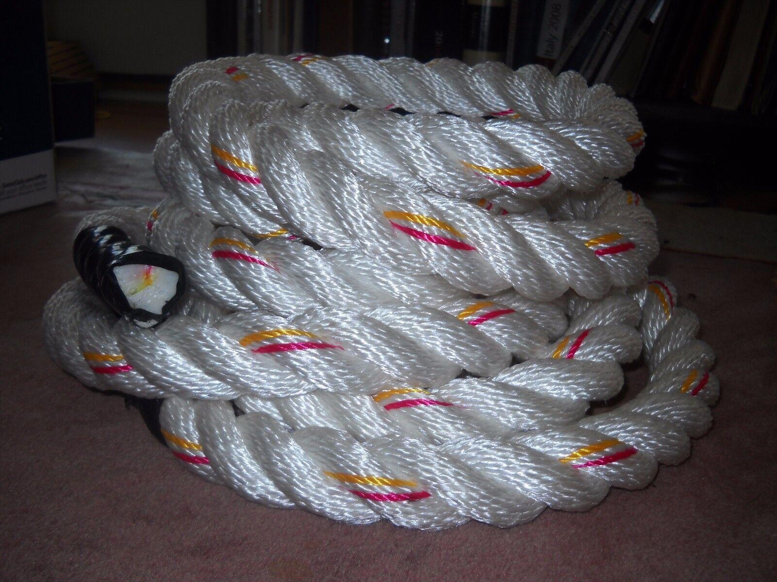 WORKOUT Rope 1 1/2 x 50 Polydacron GYM Workout UNDULATION Rope