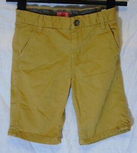 Ragazzi-Prossimi-Tan-Brown-Chino-Denim-Vita-Regolabile-Pantaloncini-Eta-7-anni