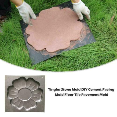 Flower  Stepping  Stone  Mold  Pavement Mold  Concrete  For  Garden  Mould