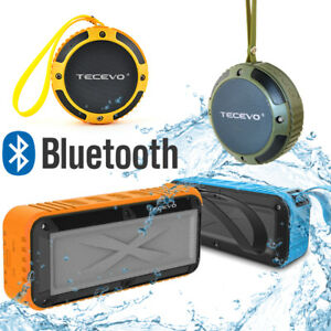 TECEVO-Bluetooth-Wireless-Speaker-Outdoor-Waterproof-For-Samsung-iPhone-Sony-LG