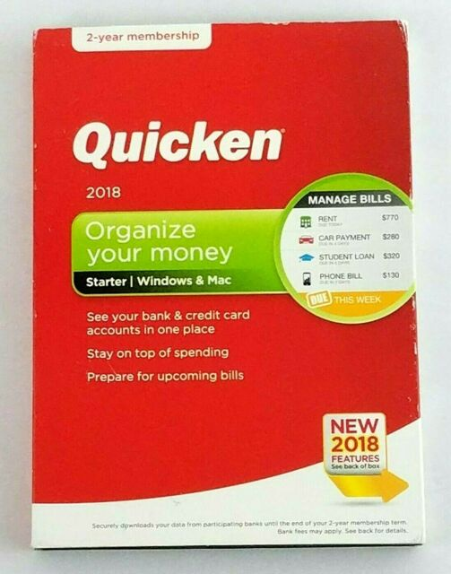 Quicken for the mac
