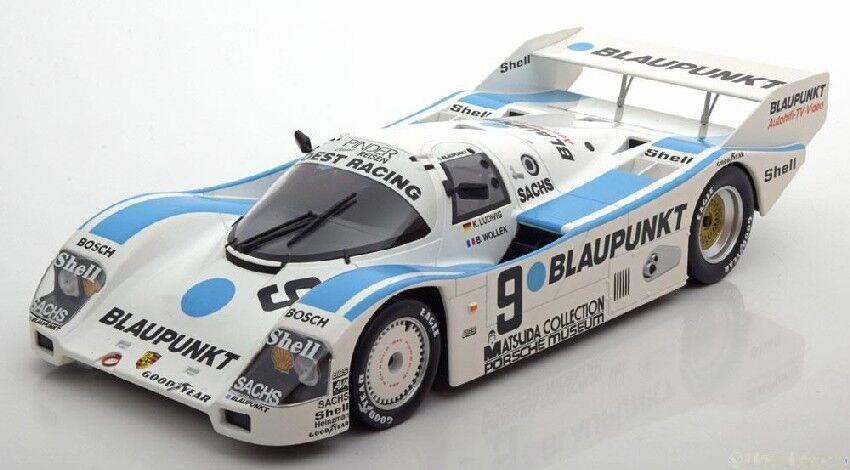 Porsche 962 C  9 Dnf 1000 Km Nurburgring 1987 K. Ludwig   B. Wollek 1 18 Model