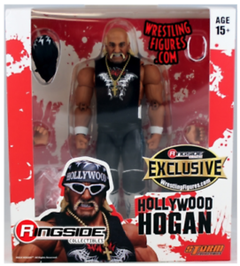 Rojo y blancoo  Hollywood Hulk Hogan-Ringside Exclusivo