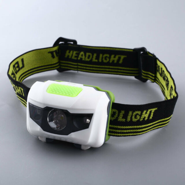 HOT Mini 600LM 3X RED LED Infrared Head Headlamp Headlight Lamp Torch