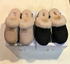 1cbc963c7b4 Details about Ugg Cozy Diamond Scuffette Slide Mule Slipper New in Box Free  shipping