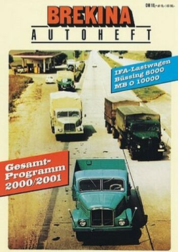 Brekina 12160 Brekina-Autoheft 2000//2001