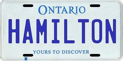 Replica Ontario Canada License Plate CA Aluminum Auto Tag CUSTOMIZED Personalized text