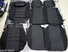 Mercedes-Benz Sprinter Volkswagen Crafter SEAT COVERS Jacquard and leatherette