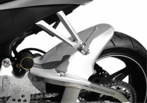 Hotbodies Racing Y04R1-HG-SIL Silver ABS Rear Tire Hugger