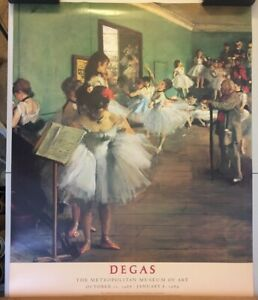 Edgar-Degas-034-The-Dance-Class-034-Metropolitan-Museum-of-Art-Print-28-x-35