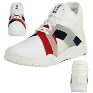Fila-The-Cage-17-Logo-Herren-High-Sneakers-weiss