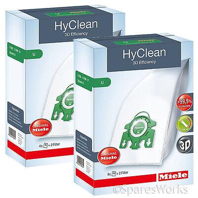 GEN MIELE U HYCLEAN Hoover DUST BAGS /& FILTERS S7210