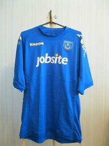 FC-Portsmouth-2011-2012-home-Size-L-shirt-jersey-football-soccer-Kappa-maillot