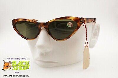 Imparziale Nilsol Vintage 1960s Women's Sunglasses Triangular Cat Eye, Plastic Polimer, Nos
