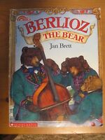 BERLIOZ THE BEAR READING RAINBOW SCHOLASTIC PAPERBACK BOOK JAN BRETT