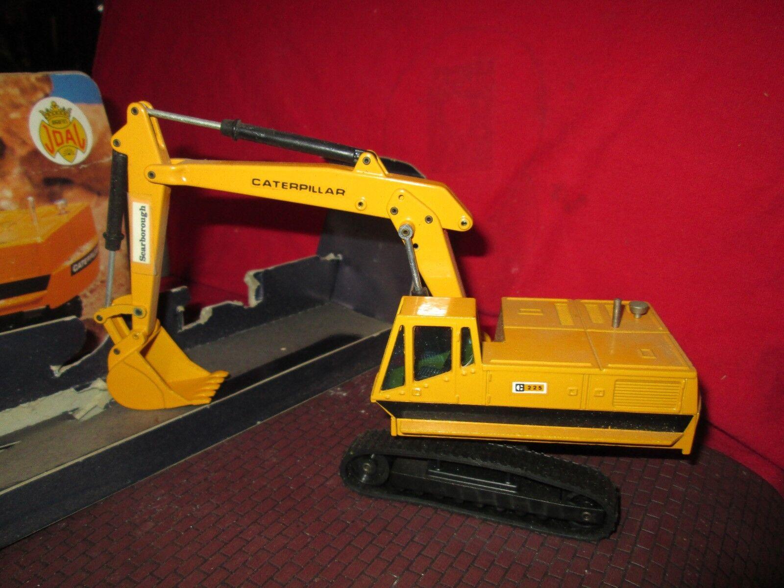 JOAL Die Cast Caterpillar Excavateur hydraulique 225 MADE IN SPAIN Box 1 70  216