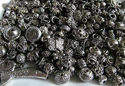 30g Mixed Selection Tibetan Silver Spacer Beads & Bead Caps ~ Jewellery Making
