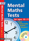 Mental Maths Tests for Ages 10-11: Timed Mental Maths Tests for Year 6 by Andrew Brodie (Paperback, 2004)