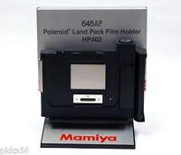 Mamiya 645 Af / Afd / Afd Ii Polaroid Film Holder / Film Back Hp402