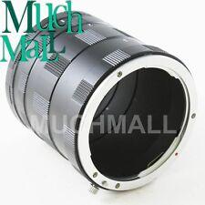 Macro Extension Tube Ring For CANON EOS DSLR 50D 600D 7D 650D 1100D 550D 1000D