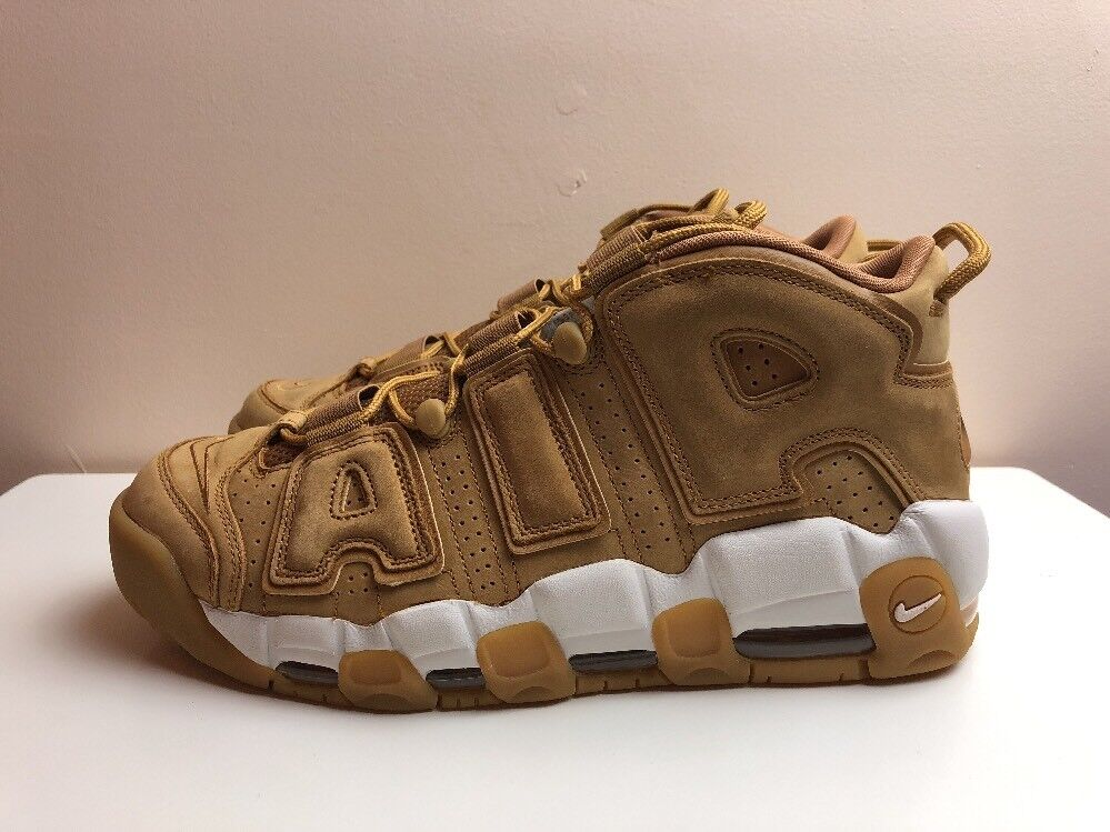 Nike Air More Uptempo 96 Premium Trainers Flax Brown10 EUR 45 AA4060 200