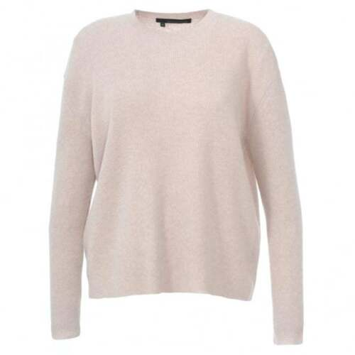 Sweater Xs 360 Ribbed Cynthia Cashmere m Størrelse 288 Rose Nwt Knit s nqUX6fxww