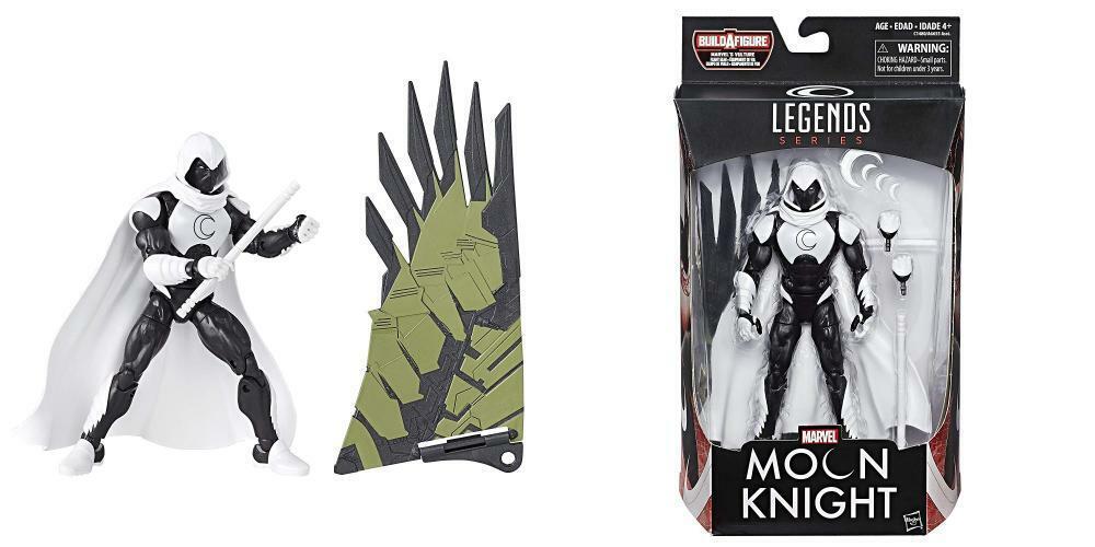 Marvel Legends Spider-Man Moon Knight Action Figure (Build Vulture's...