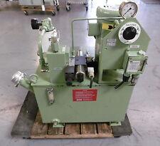 Parker PU5194 Hydraulic Oil Unit Pump & Sump from OKUMA Cadet LNC8 CNC Lathe
