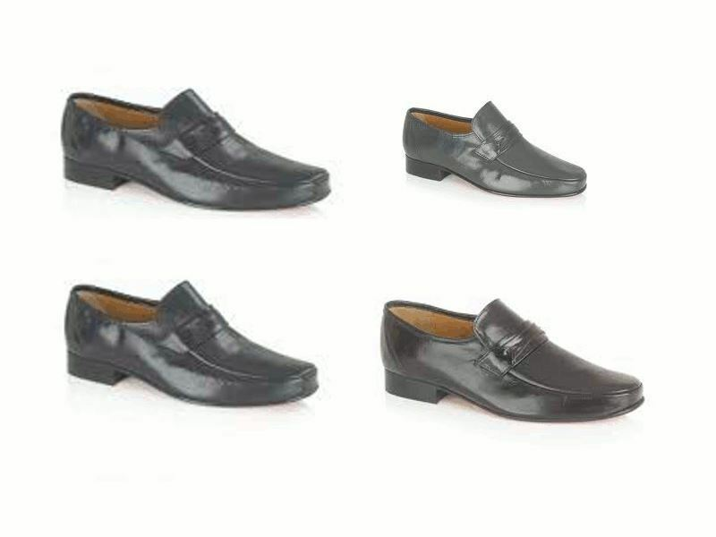 New Rombah Wallace Regent Mens formal slip ons leather schuhe Choice of Colours