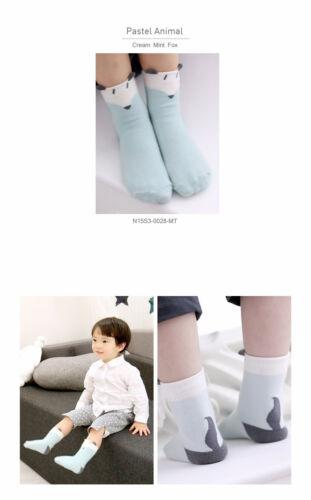 Baby Toddler Spring Summer Ankle Socks with Animal symbol design
