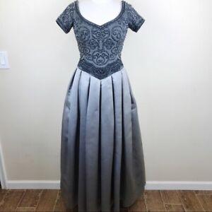 Escada Couture Ball Gown Princess Dress Masquerade Beaded Tulle Sz 6 Cinderella Ebay