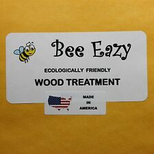"BEE EAZY!! 1 GALLON SIZE. WOOD TREATMENT & PRESERVATIVE  ""FREE SHIPPING"""