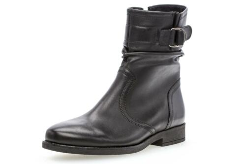 Femmes Xxl Bottines Noir Large Plus Size Gabor Chaussures UqXw6H046x