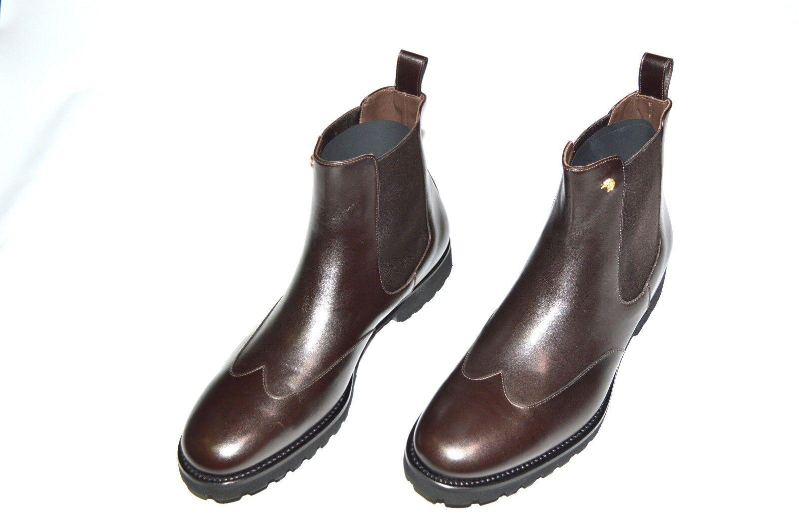 Nuevo STEFANO RICCI Cuero Zapatos Talla nos 12 (COD A1)