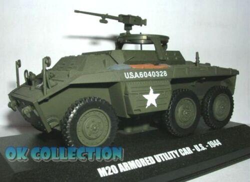 1:43 Military Model M20 ARMOURED UTILITY CAR (U.S. 1944) _ DeAgostini (23)