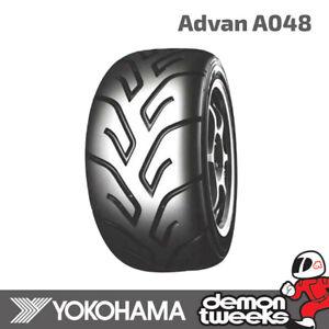 1 x Yokohama Advan A048 Tyre 190/600 R15 Soft Compound - Not E Approved