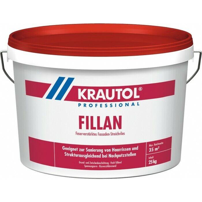 KRAUTOL FILLAN Faserverstärkendes Fassaden-Streichvlies weiß 2,5kg oder 25kg