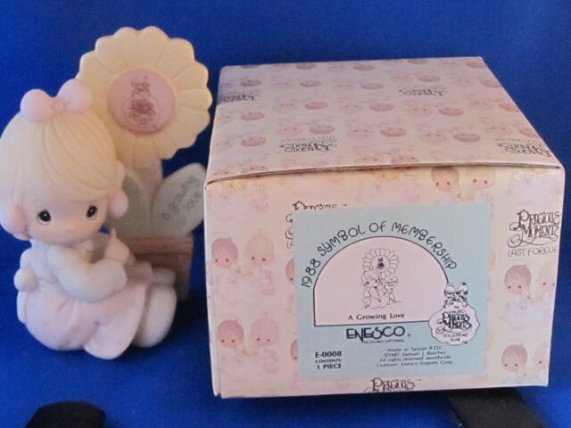 1988 Precious Moments A GROWING LOVE w/Box Free Shipping