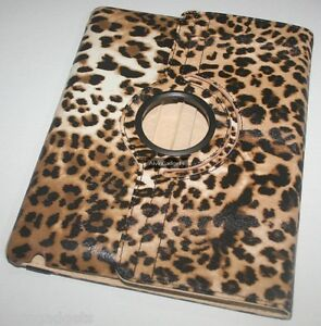Animal-Print-360-Rotate-Smart-Cover-Leather-Case-For-iPad-2-New-iPad-3