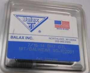 6 pak 3//8-24 3 FL BH3 Fast Spiral HSS Bottom Tap Balax edp #40133-01s s0.532359