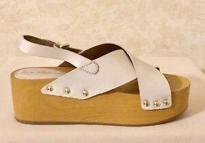 9d8a8605423 Image is loading Women-Sam-Edelman-Bentlee-Platform-Sandal-Leather-Ivory-
