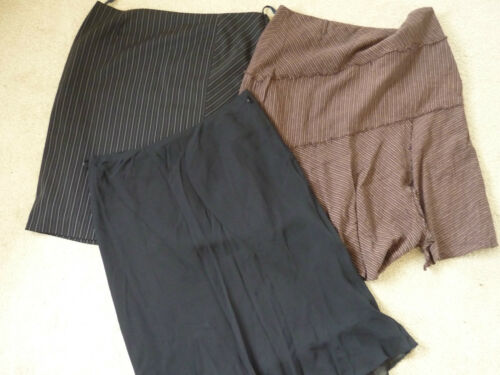 3 Gonne Successivo Size Wallis Spencer Black Brown Stripes Marks 18 Ladys Womens Cnxf5wq