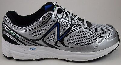 533c233d1937d Details about New Balance Men's Running 840 v2 M840SB2 Silver/Blue New In  Box
