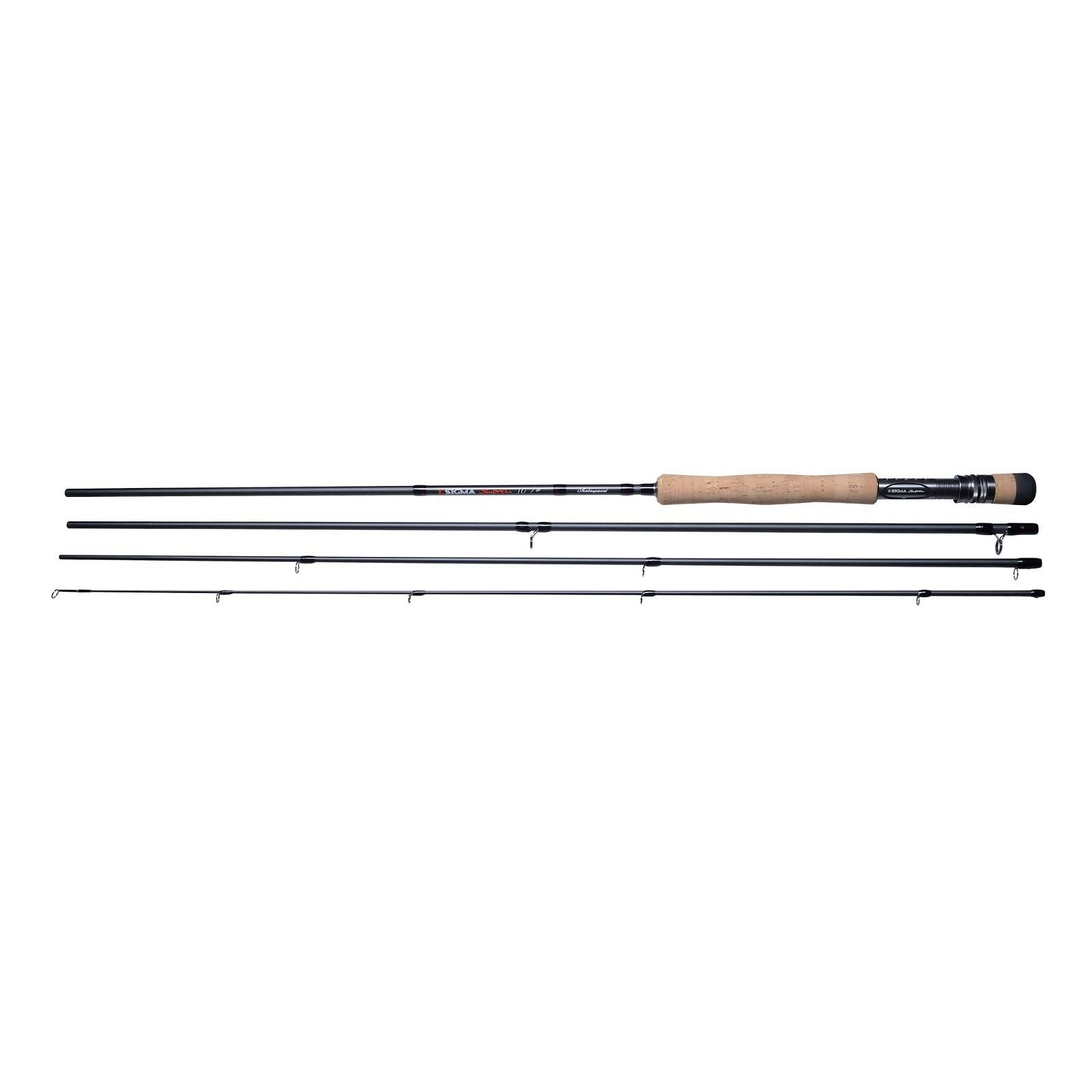 Shakespeare Sigma Sigma Sigma 4 Piece Supra Trout / Salmon Fly Fishing Rods 7ft - 11ft 916f61