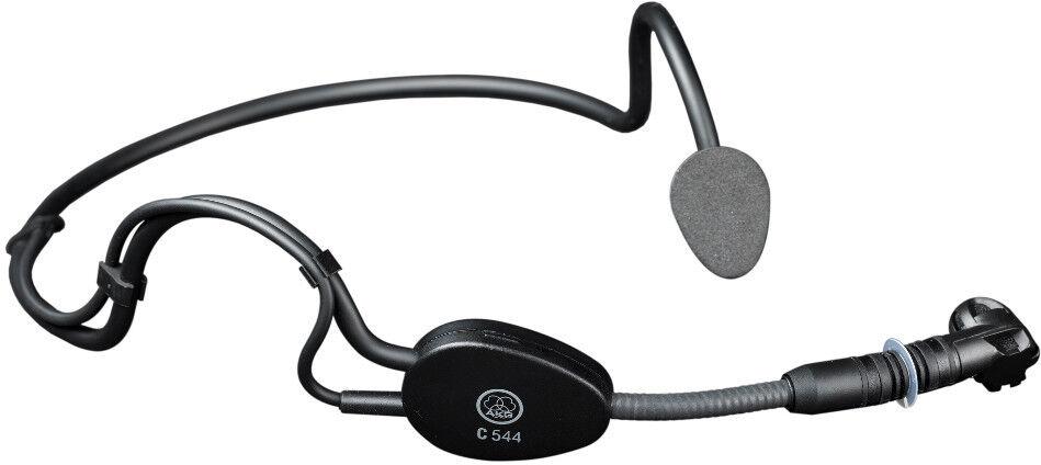 AKG C544 L  Headworn Condenser Sports Microphone for Wireless Systems