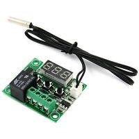 W1209 DC 12V Thermostat Temperaturregelung Schalter Regler Thermometer mit LED A
