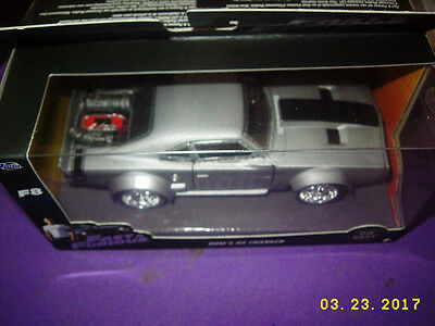 JADA 98299 FAST AND FURIOUS 8 DOM/'S ICE DODGE CHARGER 1//32 GREY