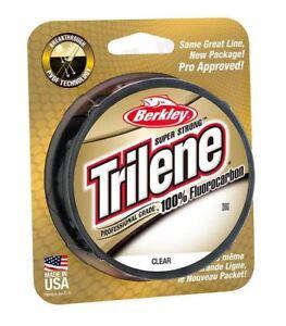Berkley-Trilene-100-Fluorocarbon-Fishing-Line-110yd-amp-200yd-Spools